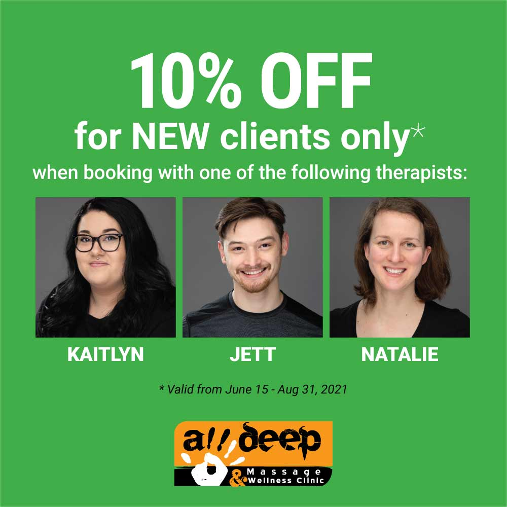 10% off for new clients
